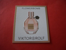 Carte Viktor & Rolf Flowerbomb - Perfume Cards