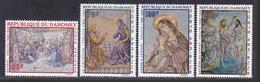DAHOMEY AERIENS N°   93 à 96 ** MNH Neufs Sans Charnière, TB (D5223) Tableaux Religieux De Foujita - Benin – Dahomey (1960-...)
