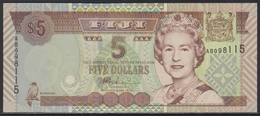 Fiji 5 Dollars (ND 2002) UNC - Fiji