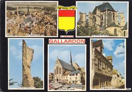 28  GALLARDON / MULTIVUES AVEC BLASON - France