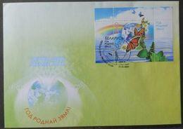 Belarus 2009. Year Of The Native Land. Miniature Sheet FDC - Bielorussia