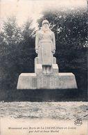 Cpa LA LOUPE 28  Monument Aux Morts Par Joël Et Jean Martel - La Loupe