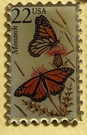 TIMBRE USA NEW PAPILLON - Mail Services