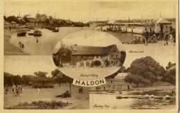 Maldon - River Blackwater - Marine Lake - Boating Pool - Beeleigh Abbey - Autres