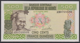 Guinea 500 Francs 1985 UNC - Guinea