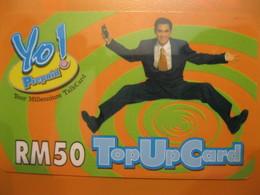 "Télécarte De Malaisie ""prépayée "" - Malaysia"