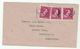 1946 BELGIUM COVER  Stamps To GB - Belgium
