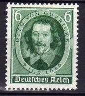 Deutsches Reich, 1936, Mi 608 * Guericke [240218XXII] - Unused Stamps
