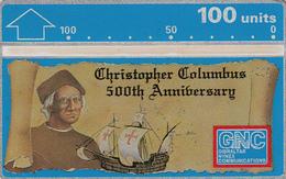 Gibraltar  Phonecard- 100u Colombus - Fine Used - Gibraltar