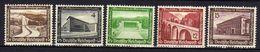 Deutsches Reich, 1936, Mi 634-636; 639-640 * [240218XXII] - Unused Stamps