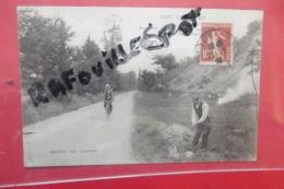 """Cp  Louviers """" Air Connu Sur La Route ... Animé N 338 - Louviers"""