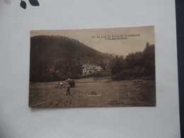 """Cpa  Au Pied Du Ballon D'Alsace  """"Villa Des Sorbiers""""  1933  Animée - France"""