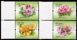 Vietnam - 2009 - Rhododendrones - Mint SPECIMEN Stamp Set - Vietnam