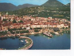 U2330 Cartolina VERBANIA INTRA (lago Maggiore) Panorama Con Battello + Nave Navi Ship Bateau _ CIRC. - Autres Villes