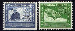 Deutsches Reich, 1938, Mi 669-670 *, Zeppelin Flugpost (Air Mail) [240218XXII] - Alemania
