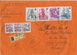 1971 VALOREN-BRIEF → R-Brief Mit 840 Schilling Von Wien Nach Genf - 1945-.... 2. Republik