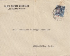 11724-BUSTA DI LETTERA AFFRANCATA 40 CENTIMOS PERFIN - 1889-1931 Kingdom: Alphonse XIII