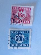 SLOVAQUIE  1940-41   LOT# 4 - Oblitérés