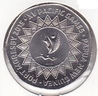Papua New Guinea - 50 Toea 2015 - Pacific Games - UNC - Papouasie-Nouvelle-Guinée
