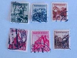 SLOVAQUIE  1940-43   LOT# 5 - Oblitérés