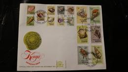Kenya 36-50 Sea Shells Fauna Day Of Issue Cover 1971 A04s - Kenya, Uganda & Tanganyika