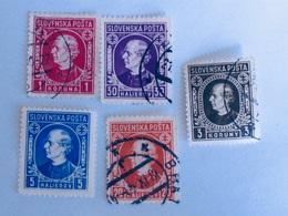 SLOVAQUIE  1939-42   LOT# 6 - Oblitérés