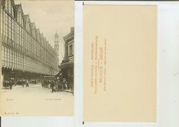 Anvers / Antwerpen: La Gare Centrale. Postcard End '800 (bien Animée) - Antwerpen