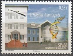 Saint-Pierre & Miquelon 2013 Yvert 1082 Neuf ** Cote (2015) 1.30 Euro L'Hôpital - St.Pierre Et Miquelon