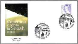 RECORDANDO LA SHOAH - REMEMBERING THE SHOAH - Judaismo - Judaica. Copertino, Lecce, 2015 - Guidaismo