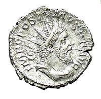POSTUMUS (260-269) - Antoninien De Billon HERC PACIFERO - 5. The Military Crisis (235 AD To 284 AD)