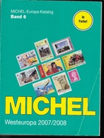 CATALOGO MICHEL - EUROPA OVEST - VOLUME 6 - EDIZIONE 2007/2008 - USATO IN OTTIMO STATO - A COLORI - Germania
