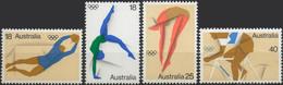 //// JO 1976 - AUSTRALIE - Yvert 591 / 594** - Michel : 606 / 609** - Ete 1976: Montréal