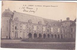 CPA  -  OIRON Le Château - France