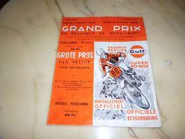 CB12 Programme Officiel Grand Prix De Belgique Moto-cross 1967 - Libri, Riviste, Fumetti