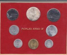 Rox  VATICANO 1966 PAOLO VI ANNO IV Divisionale 8 Monete FDC - Vaticano