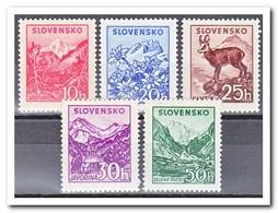 Slowakije 1944, Postfris MNH, Landscapes - Unused Stamps