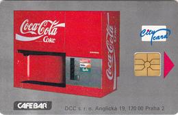 Coca Cola Phonecard   Dispenser - Mammoth - Superb Used - Iceland