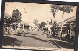 Netherlands Indies Chinese Voorstraat (Chinese Front Street) In Garoet  ± 1910 (ni9-9) - Indonesia