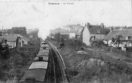 VIERZON LE TUNNEL (PASSAGE DU TRAIN) - Vierzon