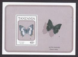 Tanzania, Scott #737, Mint Never Hinged, Butterfly, Issued 1991 - Tanzanie (1964-...)