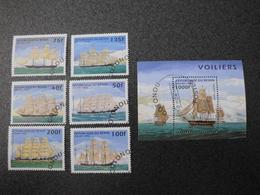 Stamps Of The World: Benin Dahomey (2: Ships) - Bénin – Dahomey (1960-...)