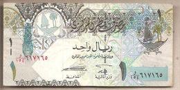Qatar - Banconota Circolata Da 1 Riyal P-28a - 2008 - Qatar