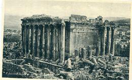 LIBAN - Baalbek : Temple De Bacchus ( Ouest Et Sud ) - Lebanon