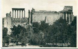 LIBAN - Baalbek : Vue Générale - Bacchus Et Jupiter Temple - Lebanon