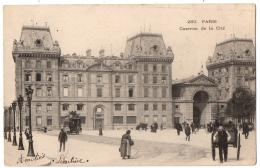 CPA 75 - PARIS - 280. Caserne De La Cité - Dos Simple - Arrondissement: 01