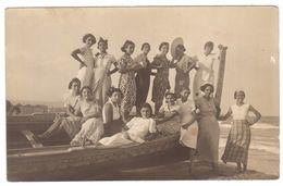 NO82  Catania 1933 - Foto Di Gruppo In Spiaggia - Zonder Classificatie