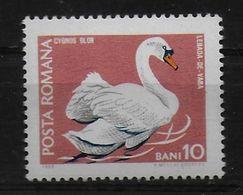 ROUMANIE     N° 2423  * *  Oiseaux Cygnes - Swans