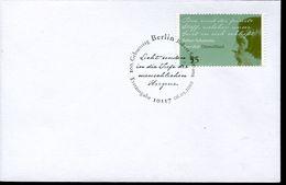 31138 Germany,  Fdc 2010 Music Composer  Robert Schumann - Musique