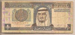 Arabia Saudita - Banconota Circolata Da 1 Riyal P-21c - 1984 - Saudi Arabia