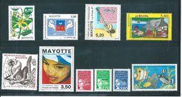 Mayotte Timbres De 1997 N°42 A 51 Complet  Neuf ** Prix De La Poste - Neufs